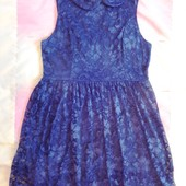 Красивое кружевное платье размер 48-50!