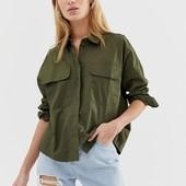 Собираем лоты!!! Модная женская рубашка, размер 42/14,100%вискоза