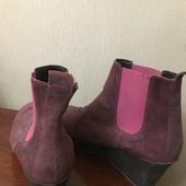 Catwalk Яркие ботинки замша 40-41