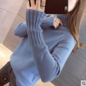 Стильный женский качественный свитер гольф. Размер на выбор!