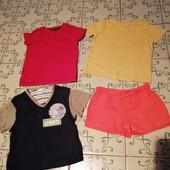 3 футболки и шорты