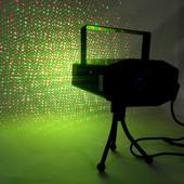 Праздничный лазерный проектор диско Лазер 4 в 1 Mini Laser