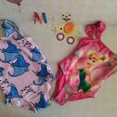 купальники на девочку 1-2года