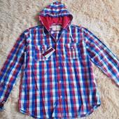 Модная мужская рубашка. Размер 46-48