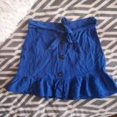 Классная, легкая, летняя юбка Topshop xxs, xs