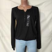 Коттоновая блузочка с кружевом,Takko(Германия), грудь-96