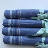Лот 3 шт. Шикарные коврики плейсматы на стол от Tchibo