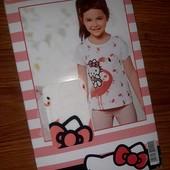Футболка Hello Kitty Германия, 98-104см. В упаковке!