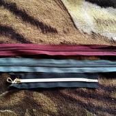 Распродажа швейной фурнитуры , три молнии по цене одной