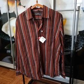 ✔Обнова✔Шикарная мужская рубашка, с этикетками и бирками