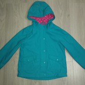Курточка дождевик на флисовом подкладе 5-6лет