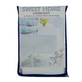 Сяткова скатертина з водостійким просиченням Sweet Home Розмір: 120*180 см. Гарна ідея подарунка.