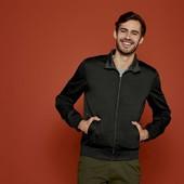 Мужская куртка в стиле харрингтон водоотталкивающая Livergy Германия, размер 48