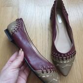Стильные туфли на низком ходу