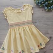 Красивое платье для девочки1-2 года. Ориентироваться на замеры.