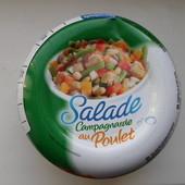 Салат с курицей и овощами 250 гр. Привезено из Франции до 2022 года