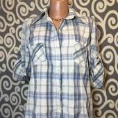 Модная, клетчатая рубашка для пышненьких девушек .