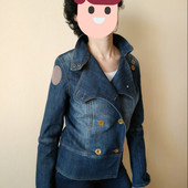 Джинсовый пиджак куртка косуха 38 и 40 евро наш 44,46,48 Германия