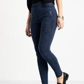 Супер классные джеггинсы, джинсы, тянуться, рр 25-30, полномерные
