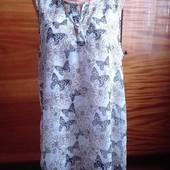 Летняя блуза(пог-62 см)