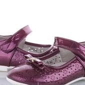 Красивые туфельки для девочки,р.30-19 см.