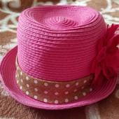 Шляпка-панамка, очень красивая
