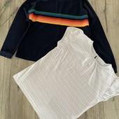Реглан и футболка для девочки 9-10 лет. В хорошем состоянии.