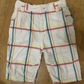 Красивые коттоновые шорты на 7-8 лет