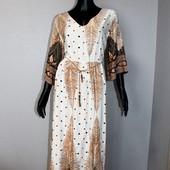 Качество! Натуральное макси платье в новом состоянии