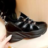 Сникерсы кроссовки на весну/осень, размеры 36.37!