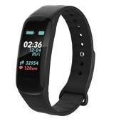 Фитнес браслет с измерением давления WearFit C1 Plus (Черный) - 9112601