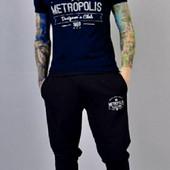 """Мужской костюм """"metropolis"""" футболка +штаны, смотрите замеры"""