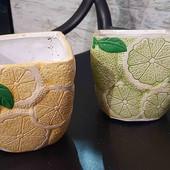 Горшочки для лимончиков,керамические!