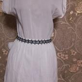Нежное белое платье Mango