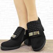 2252 Женские туфли на каблуке DOTS черные 24,5 см