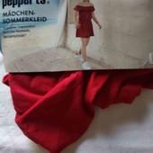 Pepperts платье с открытыми плечами 134-140 см