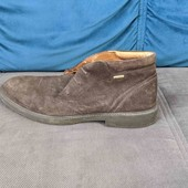 мужские замшевые ботинки Geox