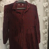 Платье-рубашка Зара