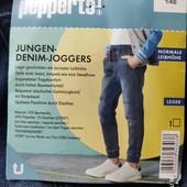 Pepperts джогеры  джинсовые 146 см