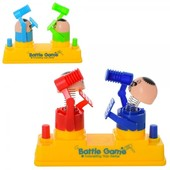 Настольная игра фигурки с молоточком (цвет - синий + зеленый)