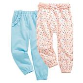 Стильні штанці (2шт) німецького бренду Іmpidimpi на ріст 62-68см