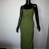Качество! Стильное макси платье для будущей мамы от Boohoo, в новом состоянии
