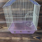 Клетка для попугаев, состояние отличное