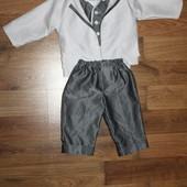 Нарядний костюм для хлопчика р. 74