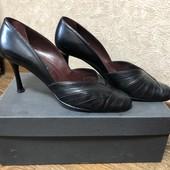 Туфли натуральная кожа Италия размер 40 не секонд