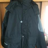Куртка, термо ветровка, внутри флисовая подстежка, размер L (52-54). сост. отличное
