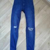 Бомбезные джинсы /скини /Tally Weijl /XS!!!