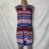 Свободное лёгкое платье с удлиненной спинкой. В идеале!
