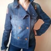 Джинсовый пиджак косуха 38 евро наш 44-й Германия
