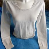 легкий свитерок хб